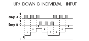 UP/DOWN B INDIVIDVAL INPUT